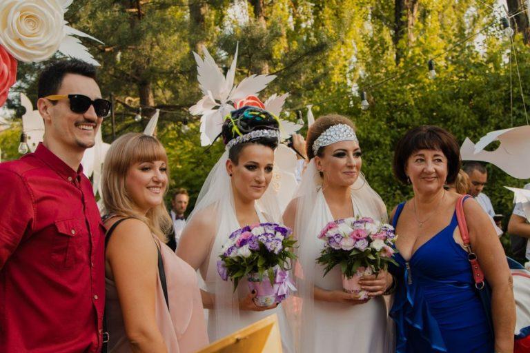Andrew Fisher: В Украине впервые состоялась однополая свадьба!