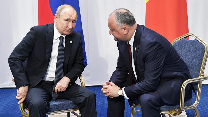 Сергей Доценко: Додону не вдалося продати Молдову Путіну